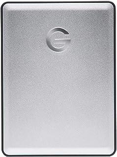 G-Technology ポータブルHDD 1TB シルバー G-DRIVE Mobile USB 3.0 3年保証 0G06071