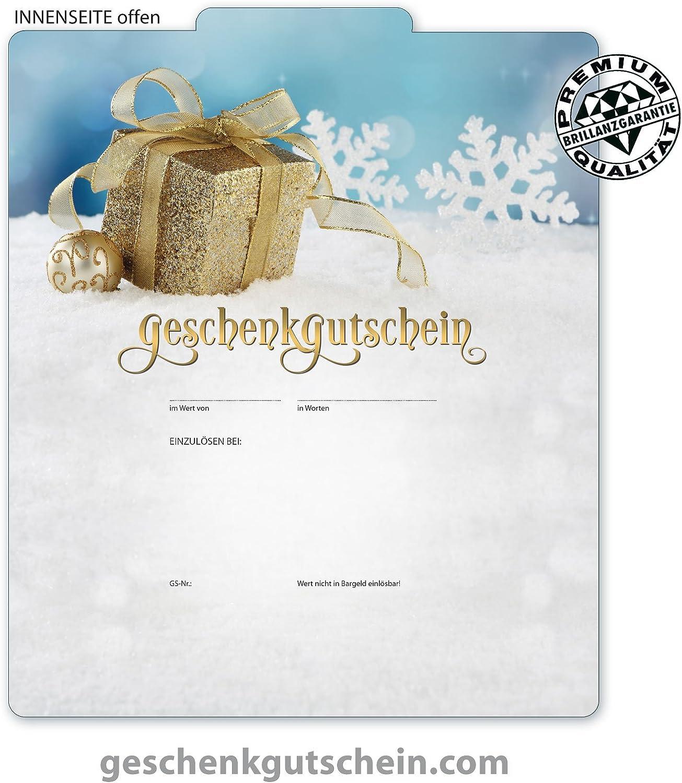 """50 Stk. Premium Weihnachts-Geschenkgutscheine Gutscheine zum Falten """"MultiFarbe  für für für alle Branchen geeignet X224, LIEFERZEIT 2 bis 4 Werktage  B00N7JZJNO   Speichern  ed79d1"""