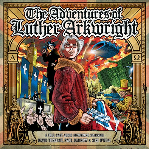 The Adventures of Luther Arkwright audiobook cover art