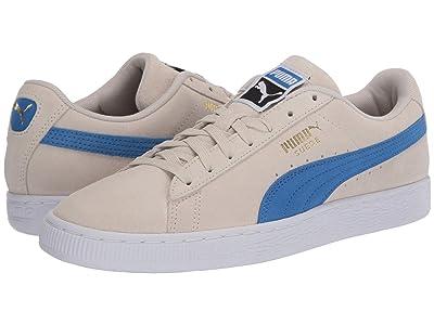 PUMA Suede Classic (Whisper White/Palace Blue/Puma Black) Shoes