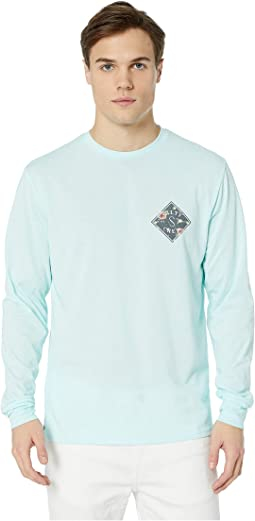 Island Time Long Sleeve Tech Tee