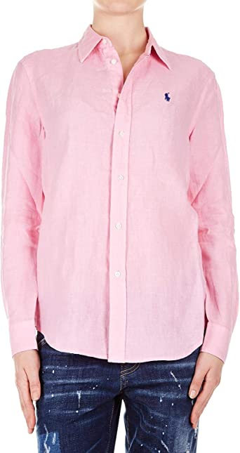 Ralph Lauren Luxury Fashion Mujer 211732637003 Rosa Camisa ...