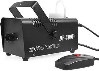MVPOWER Máquina de Niebla 400W Control Remoto Líquido de Humo Máquina de Humo para Efecto Escenario Adecuado para Boda, Fiesta, Club DJ, Bar, Teatro, Concierto en Vivo