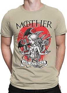 Camisetas La Colmena 1500-Game of Thrones - Mother of Dragons, Disponible En Camiseta o Taza