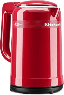 kitchenaid red electric kettle