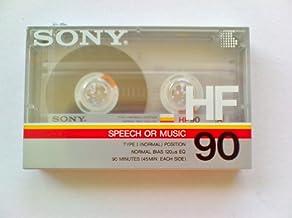 Sony C90HFR 90 Minute HF Audio Tape