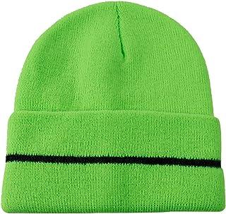 JIBIL Warm Winter Knit Beanie Hat for Men and Women, Soft Long Cuff Running Skull Cap