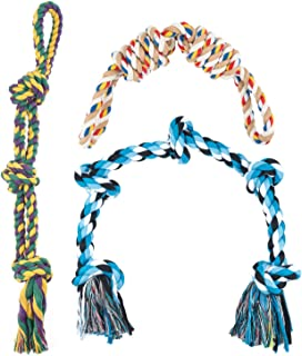Juguetes Perros Grandes Resistentes,Diseñado para un Perro Grande y Fuerte, El Juego Aburrido Juguetes para Perros De 3 Piezas 30 Pulgadas De Largo y Pesa 4 Libras (Verde)