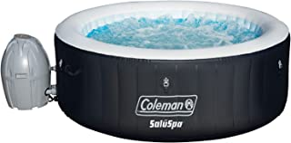 Coleman SaluSpa 4 Person Inflatable Outdoor Spa Hot Tub + Spa Maintenance Kit