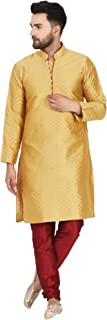 SKAVIJ Kurta Pajama Set for Men Indian Clothing Party Dress