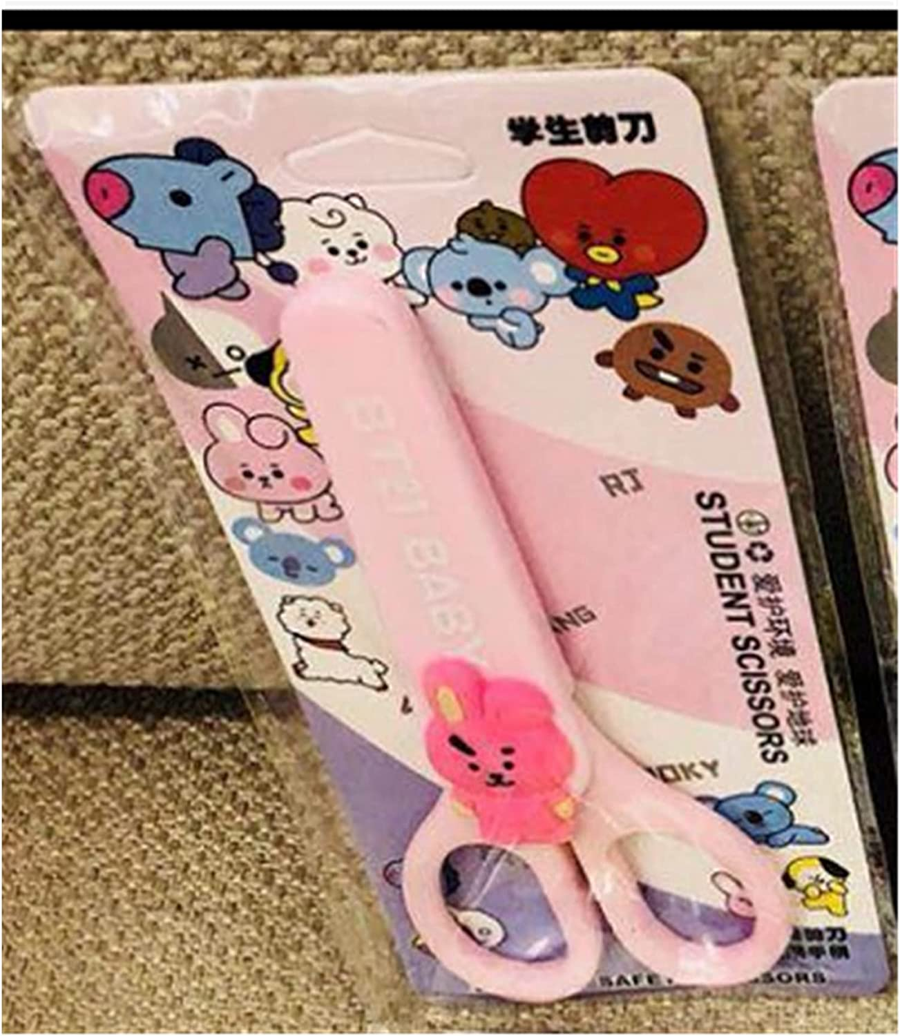 Paper-Cut Art Scissors with Recommendation Protective Cap Supply Sta Kids Cover Selling and selling