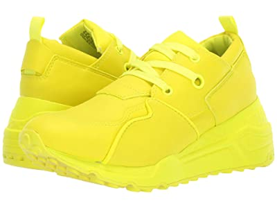 Steve Madden Cliff Sneaker (Yellow) Women