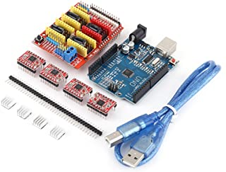 A4988 DRV8825 AptoFun CNC V3.0 Expansions Shield for Engraving Machines 3D Printers Compatible with Arduino Uno