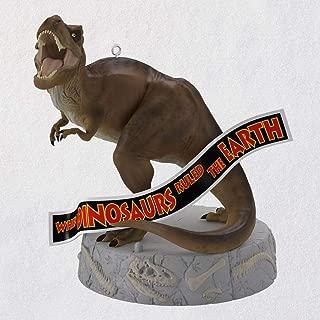 Hallmark When Dinosaurs Ruled The Earth -Jurassic Park Christmas Ornaments