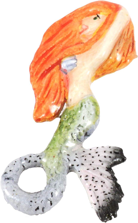 Creative Pewter Designs Mermaid Lapel Don't miss the campaign Premium Spasm price P Red-Head