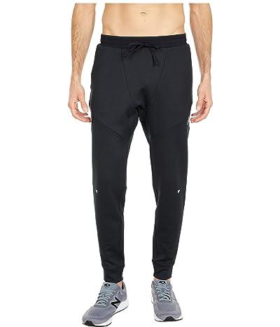 New Balance Q Speed Run Pants (Black Heather) Men