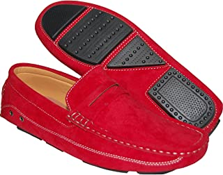 Red Sizzle Men Penny Loafer