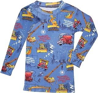 Children's Goodnight, Goodnight Construction Site Blue Two Piece Pajama Set