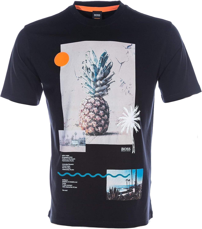 7039486aa5985 BOSS Teecher 3 T Shirt Shirt Shirt in Black c1d428 - paaoy ...