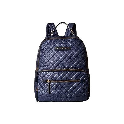 Tommy Hilfiger Alva Backpack Quilted Nylon (Indigo) Backpack Bags