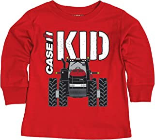 Case IH Kid Front - CASE IH Toddler Long Sleeve Tee