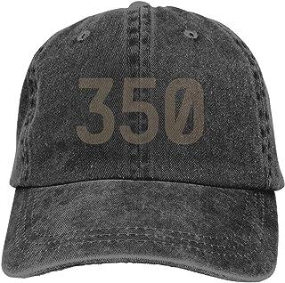 9797deee AOYUA Yeezy Boost 350 Box Illustration Unisex Washed Adjustable Fashion  Cowboy Hat Denim Baseball Caps
