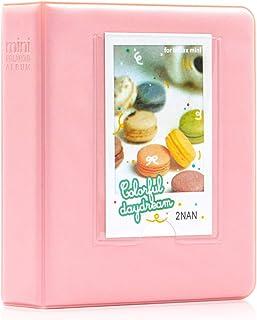Amimy 64 Pockets álbum de Fotos para Fujifilm Instax Mini 7s 8 8+ 9 25 50 70 90, Polaroid Snap PIC-300, HP Piñón, Kodak Mi...