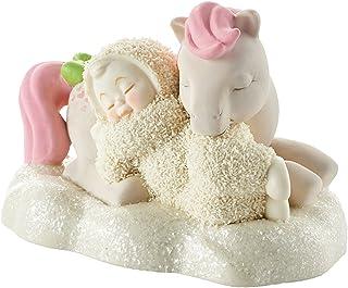 "Department 56 Snowbabies Good Night, Snuzzle Porcelain Figurine, 3.3"""