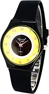 Girls Boys Watches,Super Thin Watch Gifts for 8-16 Years Old Lovely Silicone Band Wrist Watches for Girls Boys Kids Children