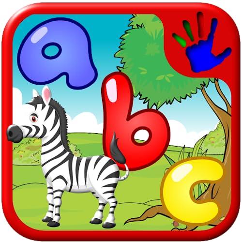 ABC pré-escola vista palavra quebra-cabeças formas - ensina a crianças o alfabeto fonético letra em inglês e mais de 100 leituras simples palavras