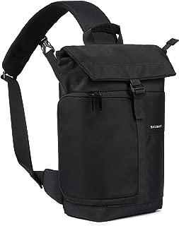 BAGSMART Camera Bag, DSLR Camera Bag Sling Bag for 1 Camera, 1 Lens, 1 DJI Mavic Pro, Rain Cover (for Canon Nikon Sony Sigma Pentax Olympus Panasonic Fujifilm)