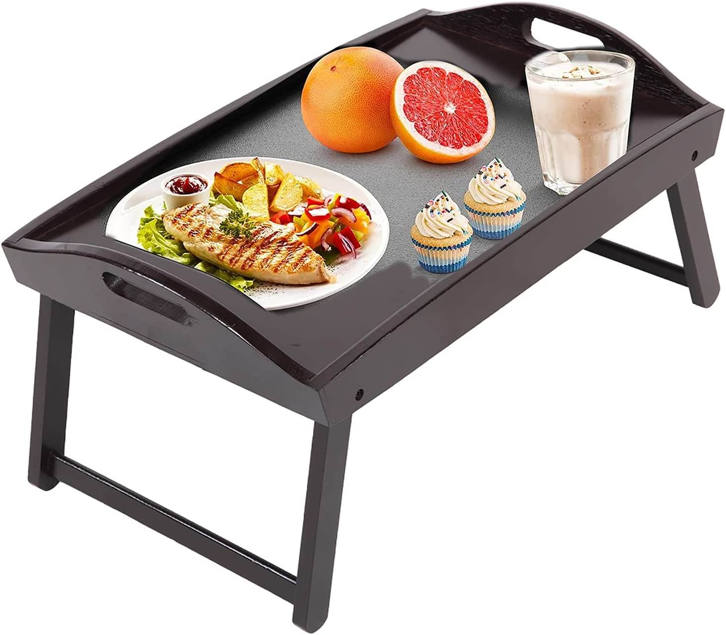 Japan's largest assortment Foldable Bamboo Breakfast Table Serving Sale SALE% OFF T Tray