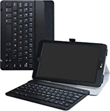 LG G Pad X2 8.0 Plus Wireless Keyboard Case,LiuShan Detachable Wireless Keyboard Standing PU Leather Cover for 8.0