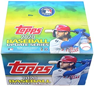 2020 Topps Update Retail Box (24 Packs/16 Cards)