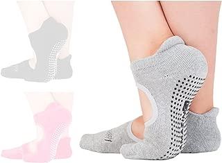 Yoga Socks for Women Barre Sock Non-Slip No-Skid Grip Pilates Hospital Maternity