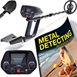 Ultimate Metal Detector For Adults - Waterproof Pro Detectors With Pinpointer For Kids - High Accuracy Professional Handheld Relic Hunter With Arm Support ...