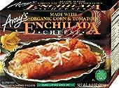 Amy's Enchiladas, Cheese, 9 oz (Frozen)
