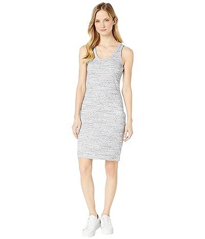 MICHAEL Michael Kors Rib Tank Fitted Dress (True Navy/White) Women