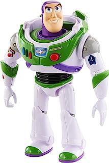 Disney Pixar Toy Story 4 True Talkers Buzz Lightyear Figure, 7 in / 17.78 cm Tall GDP84