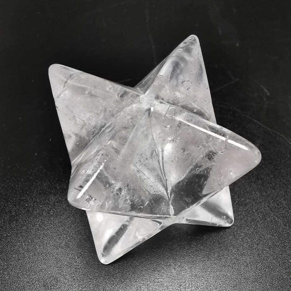 Easy-to-use Decor Stone 40mm Natural trust Clear Transparent Quartz Crystal Crysta