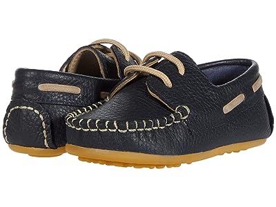 Elephantito Regatta Boat Shoe (Toddler) (Blue) Boy