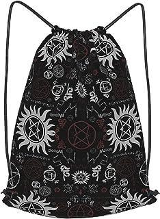 Drawstring Bag Backpack Gym Sports Yoga Rucksack Waterproof for Men Women