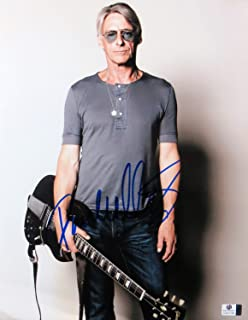 Paul Weller Signed Autographed 11X14 Photo Sexy Pose w/Guitar The Jam GV837766