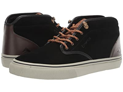 Emerica Wino G6 Mid (Black/Brown/Grey) Men