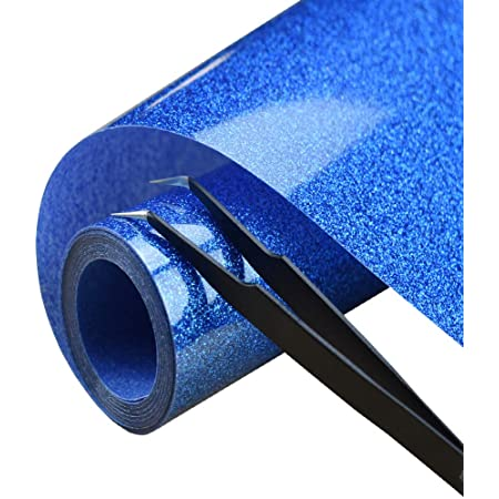 Heat Transfer Vinyl Glitter Roll for T Shirts 12x5Ft 10PC