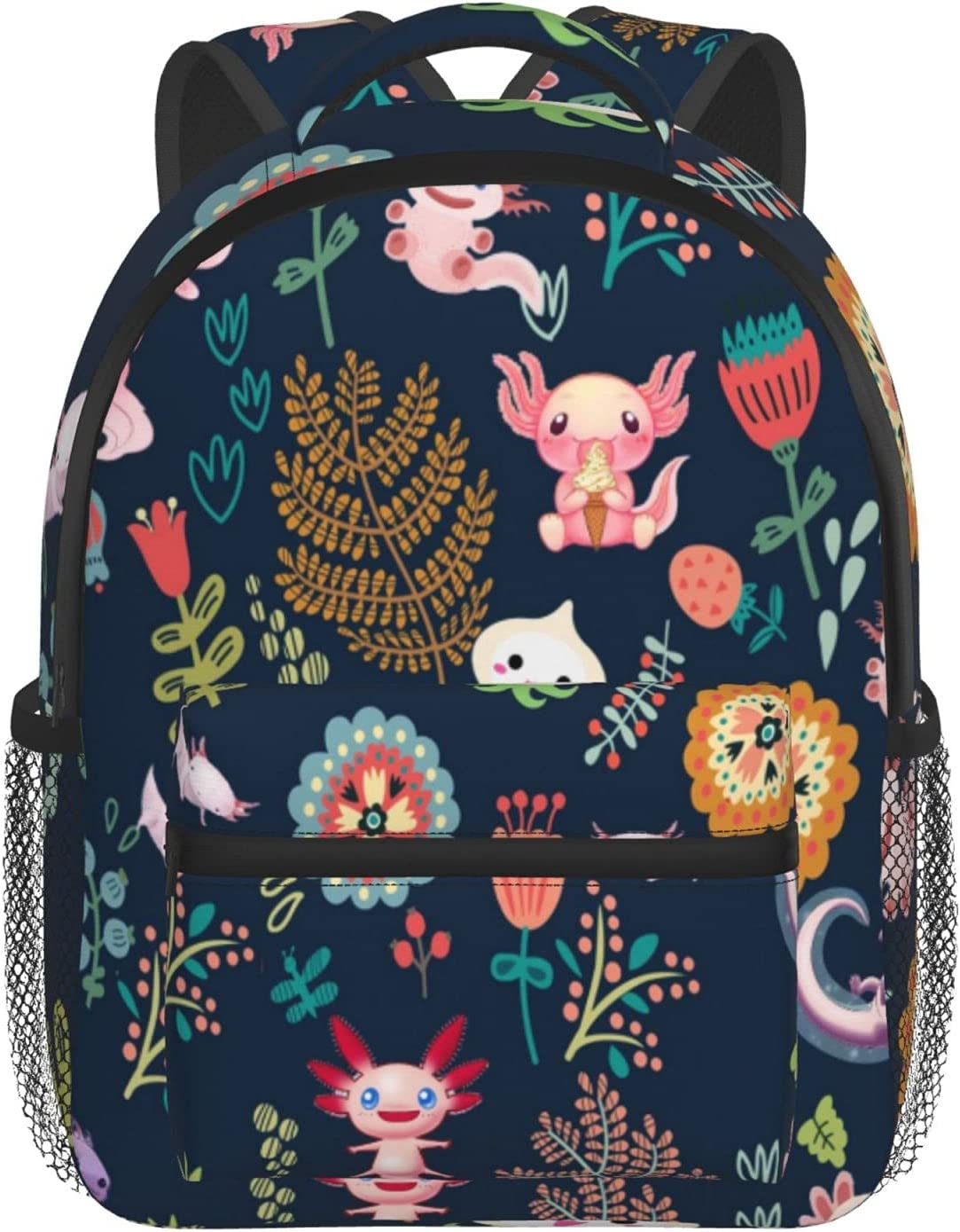 LIK EPOCH Special price for a limited time Axolotl kids backpack printing t 3D children's fashion Max 84% OFF