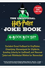 The Unofficial Harry Potter Joke Book 4-Book Box Set: Includes Great Guffaws for Gryffindor, Stupefying Shenanigans for Slytherin, Howling Hilarity for ... Riddles for Ravenclaw! (English Edition) eBook Kindle