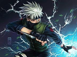 """Hatake Kakashi Lightning Naruto Anime Poster and Prints Unframed Wall Art Gifts Decor 12x18"""""""