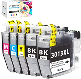 F FINDERS&CO LC 3013 Ink, Compatible Ink Cartridges Replacement for Brother LC-3013 LC3013 Ink Work with MFC-J491DW, MFC-J...
