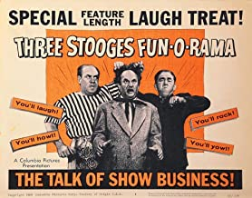 Posterazzi Poster Print Collection Three Stooges Fun-O-Rama Still (10 x 8)